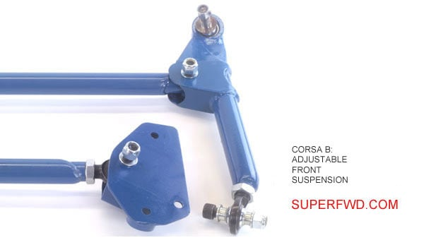 Adjustable Front Suspension Kit: Corsa B