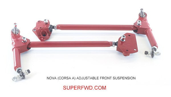 Adjustable Front Suspension Kit: Nova (Corsa A)