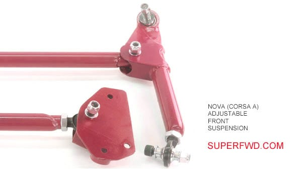 Adjustable Front Suspension Kit: Nova (Corsa A)
