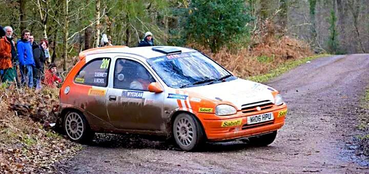 BTRDA 1400 Winner Rally Car