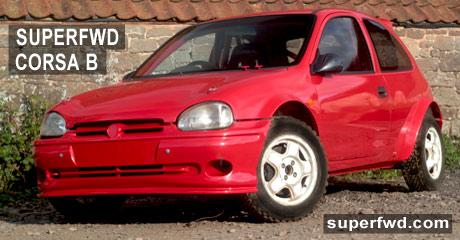Super Front Wheel Drive: Motor Sport Specialist: Vauxhall Corsa B